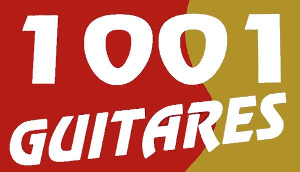 1001 guitares